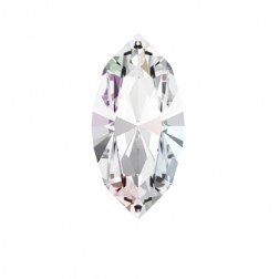 Swarovski Navette Fancy Stone #4228 - Crystal AB 15x7mm