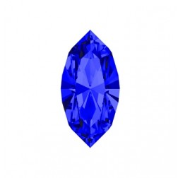 Swarovski Navette Fancy Stone #4228 - Majestic Blue 15x7mm