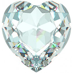 Swarovski Large Heart Fancy Stone #4827 - Crystal 28mm
