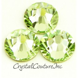Swarovski 2058 Rhinestones Chrysolite 09ss Medium Tube